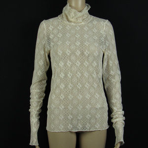 Intimately Free People Size M Lace Top